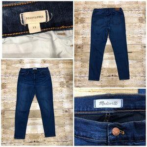 Madewell Roadtripper High Rise Skinny Jeans Sz 32